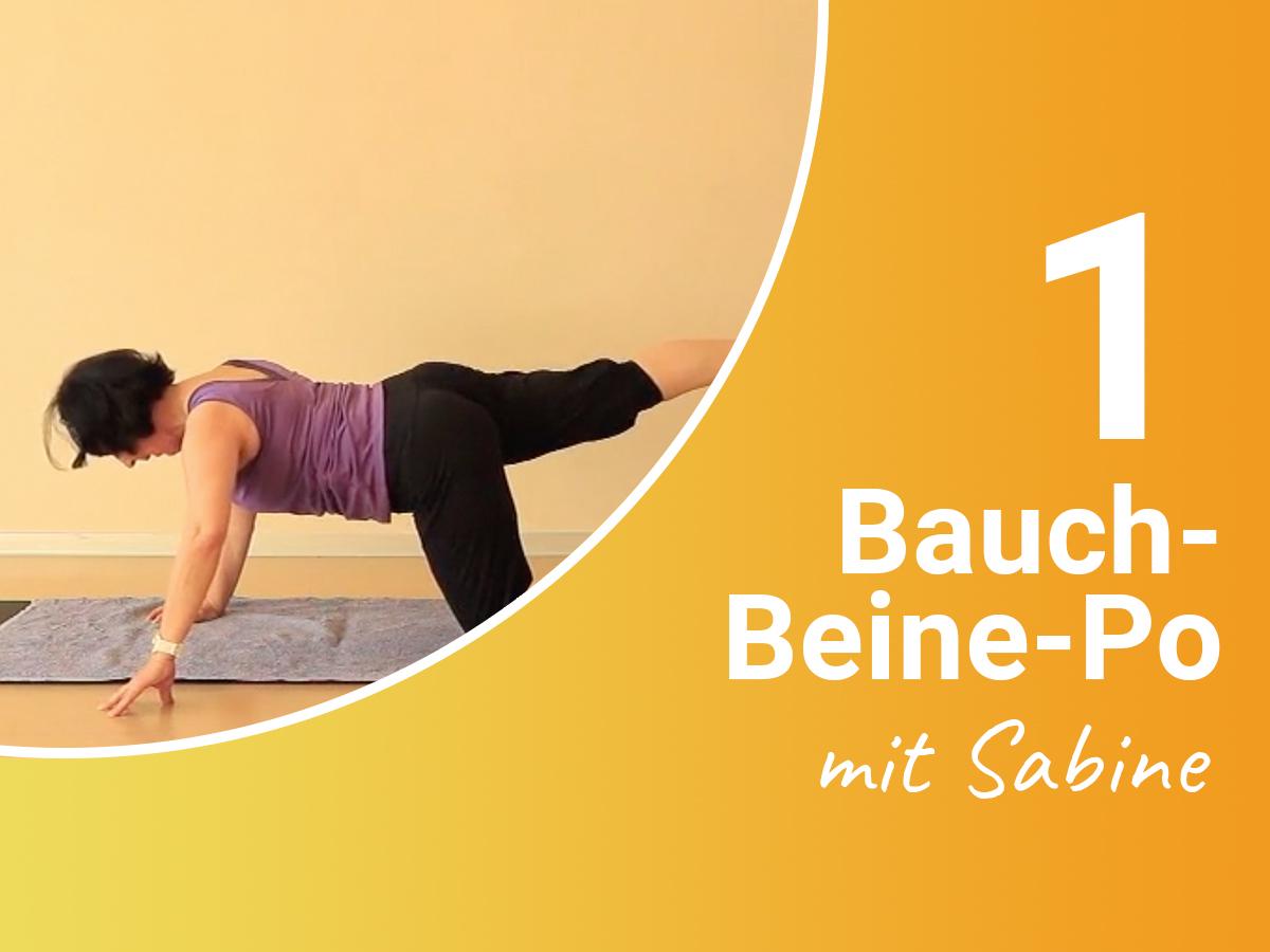 Bauch-Beine-Po mit Sabine 1