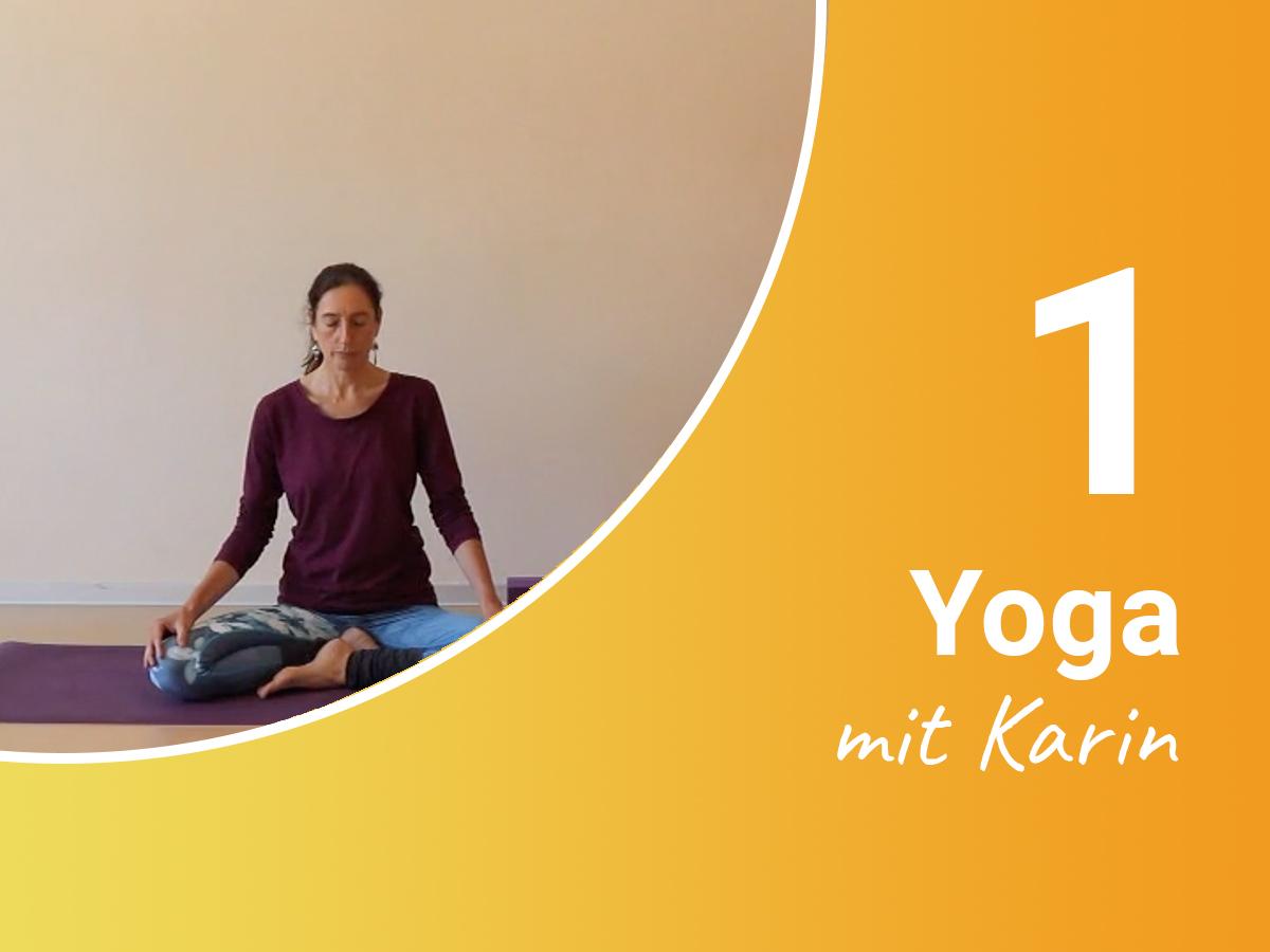 Yoga mit Karin 1